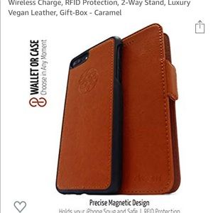 online store 7844e aa06c DREEM FIBRONACCI iPhone 8 magnetic wallet case.